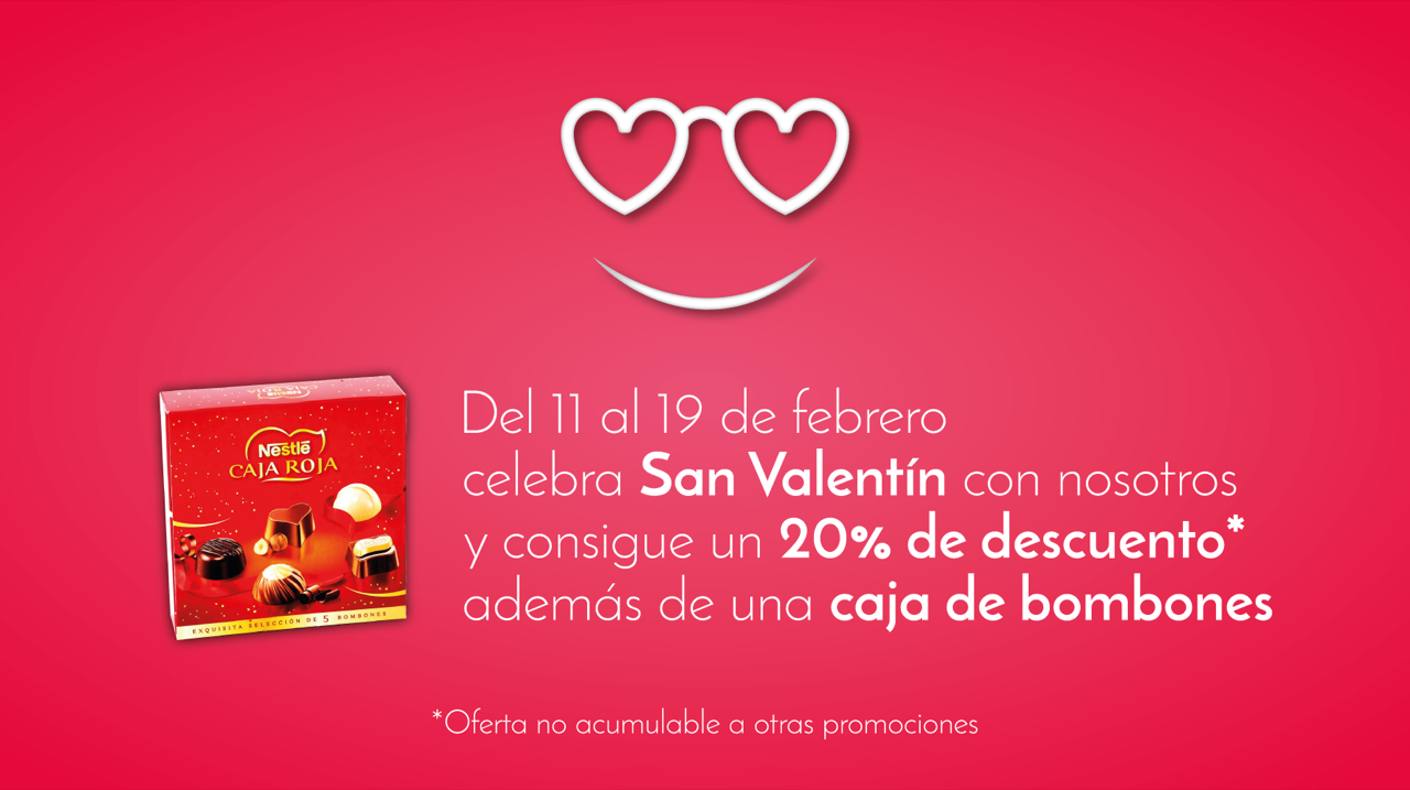 Promoción de San Valentín
