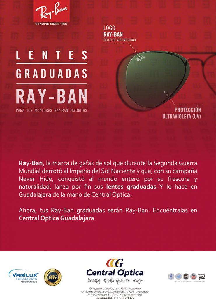 Lentes Ray-Ban graduadas
