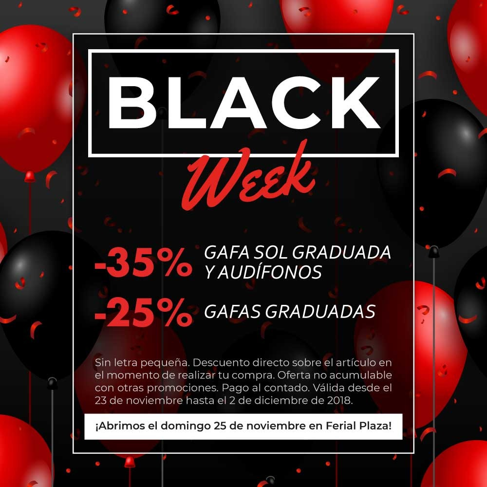 Black Week Central Óptica