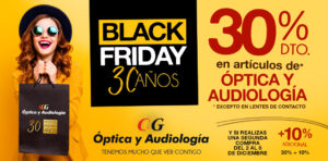 Black Friday óptica y audiologia