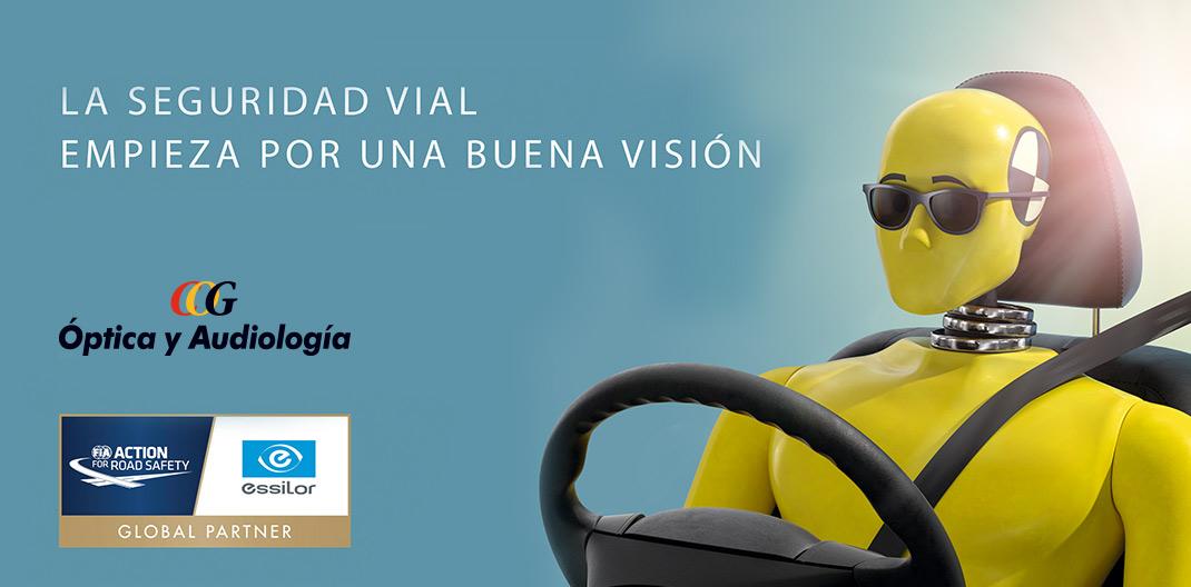 Salud visual sol y conducción seguridad al volante