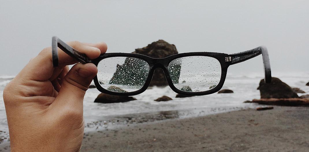 Gafas y playa