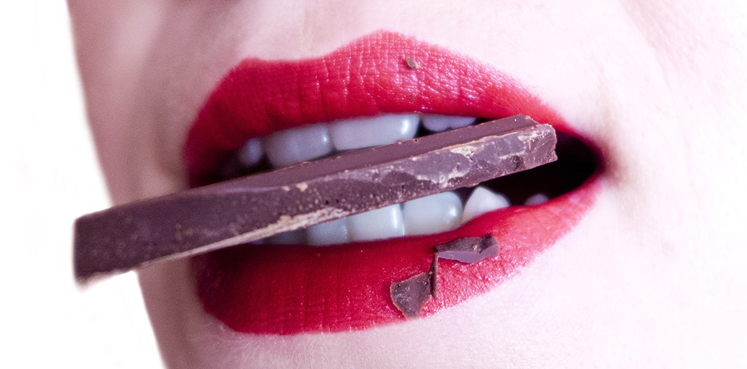 Boca y chocolate