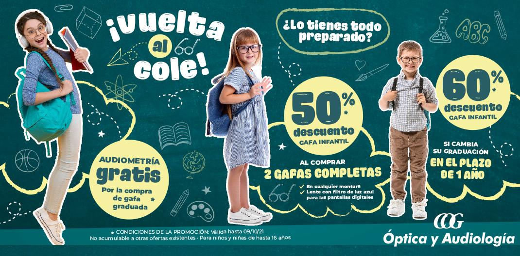 promocion gafas vuelta al cole niños